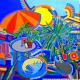 Mon jardin bleu